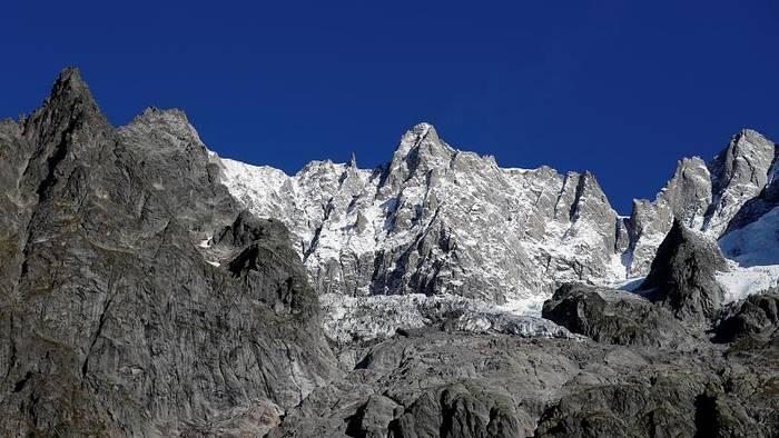 News video: Gletscher am Mont Blanc rutscht weiter ab