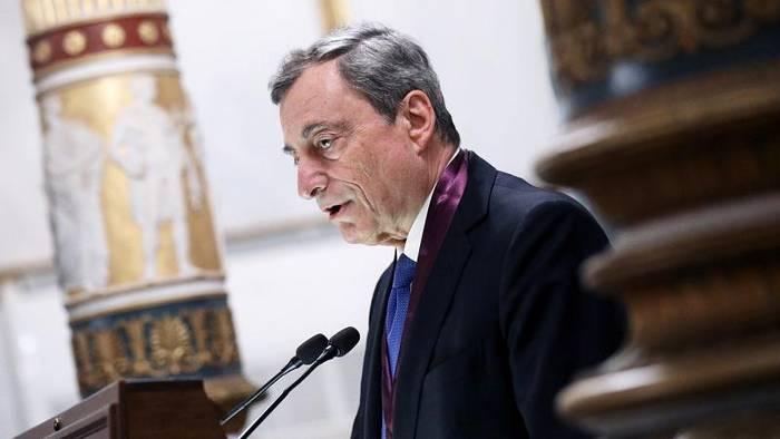 News video: EZB-Präsident Draghi fordert Investitionen