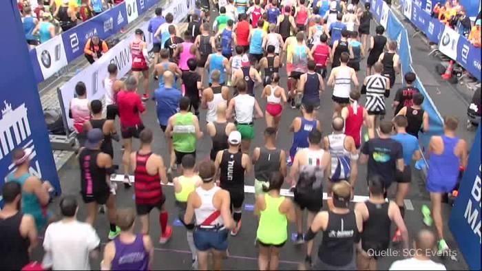 Video: Bekele verpasst Weltrekord beim Berlin-Marathon hauchdünn