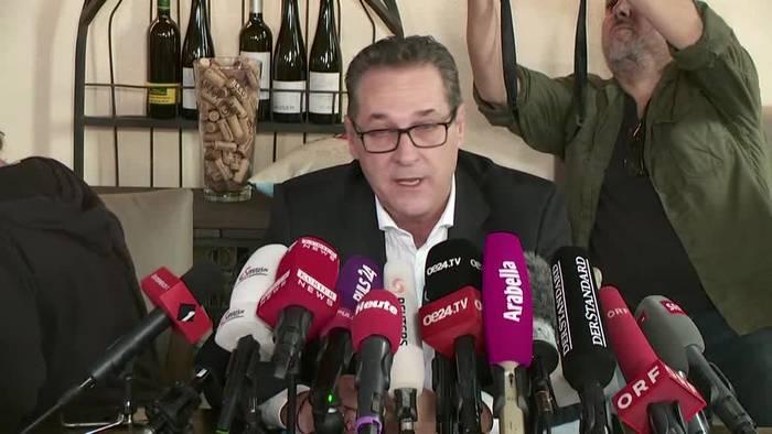 Video: Ex-FPÖ-Chef Strache beendet seine politische Karriere