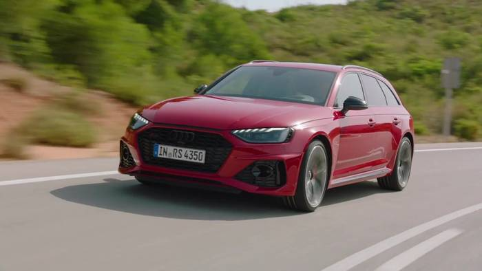 News video: Der neue Audi RS 4 Avant Highlights