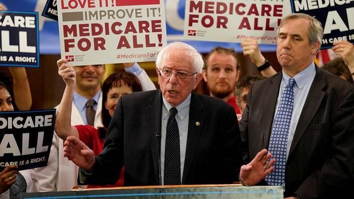 News video: Nach Herz-OP: Genesungswünsche für Bernie Sanders