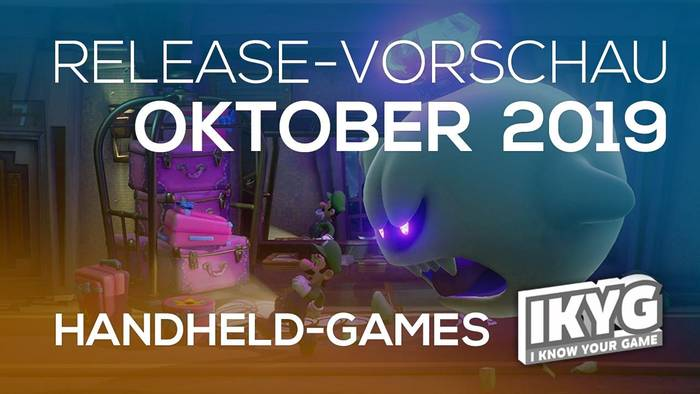 News video: Games-Release-Vorschau - Oktober  2019 - Handheld