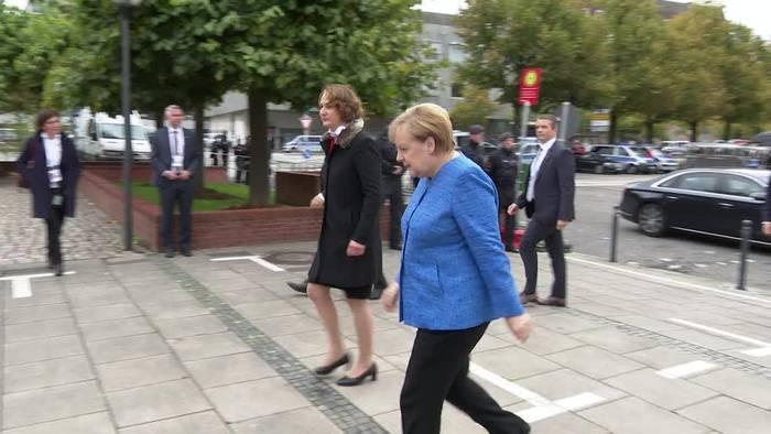 News video: Merkel wirbt für Verständnis zwischen Ost- und Westdeutschen