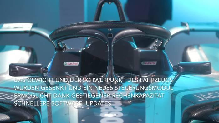 News video: Jaguar Panasonic Racing präsentiert den neuen I-TYPE 4, den zweiten Werksfahrer und neue Industriepartner