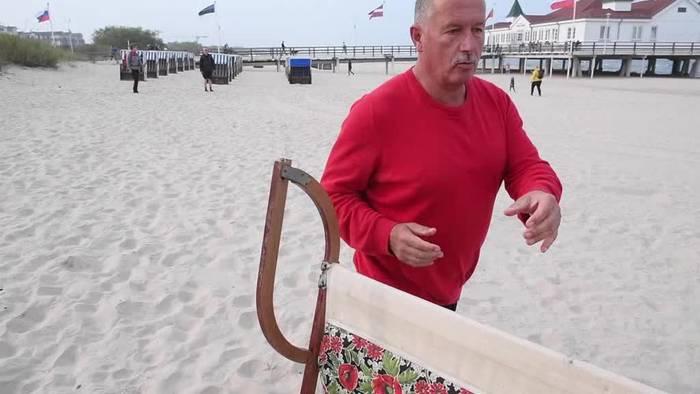 Video: Experten: Woher stammt der faltbare Strandkorb von Usedom?
