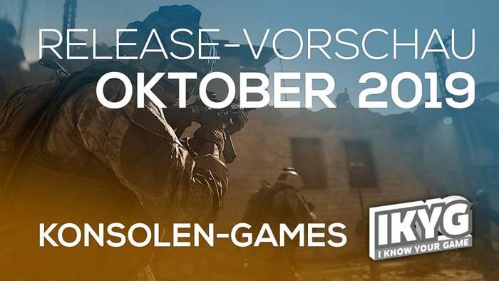 Video: Games-Release-Vorschau - Oktober  2019 - Konsole