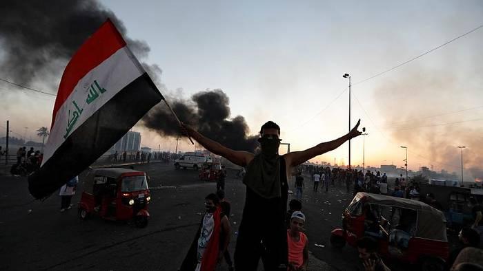 News video: Wieder Tote und Verletzte bei Protesten im Irak