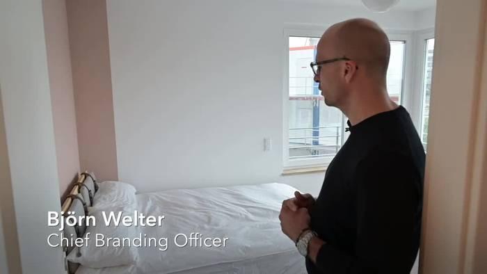 News video: Co-Living-WGs: 720 Euro für 15 Quadratmeter