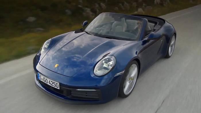 News video: Porsche 911 Carrera 4S Cabriolet - Umfangreiche Assistenzsysteme für mehr Sicherheit und Komfort