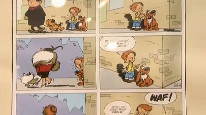 Video: Gezeichnete Kindheitsträume - 30 Jahre Brüsseler Comics-Museum