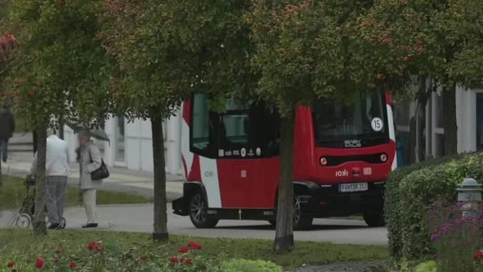 News video: Von Bad Birnbach lernen: Fahrerloser Elektrobus