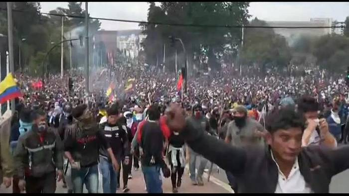 News video: Teurer Treibstoff: Proteste in Ecuador gehen weiter