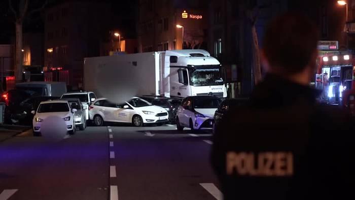 Video: «Ziemlich nah dran» - Limburger betroffen nach Lkw-Crash