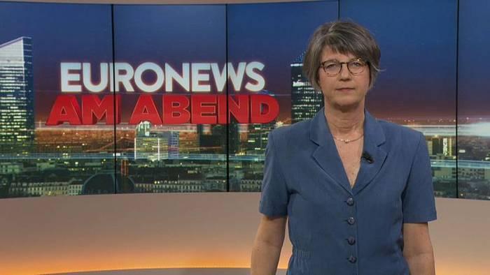 Video: Euronews am Abend   Die Nachrichten vom 08.10.2019