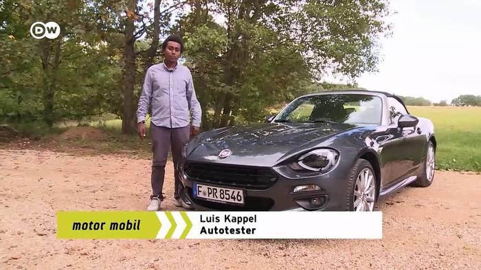 Video: Retro: Fiat 124 Spider   Motor mobil