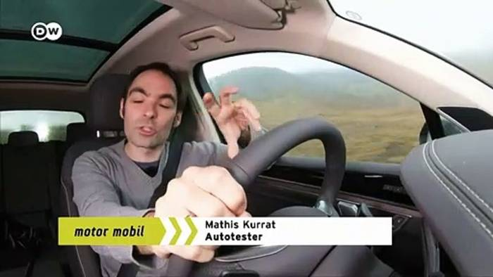 Video: Abseits: VW Touareg V8 TDI   Motor mobil