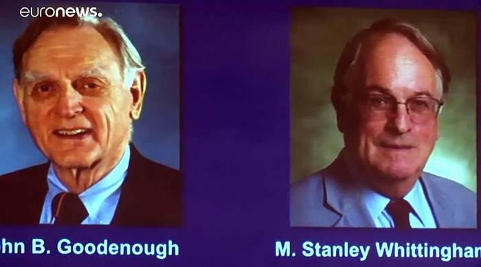 News video: Chemie-Nobelpreis 2019 für Entwickler von Lithium-Ionen-Batterien