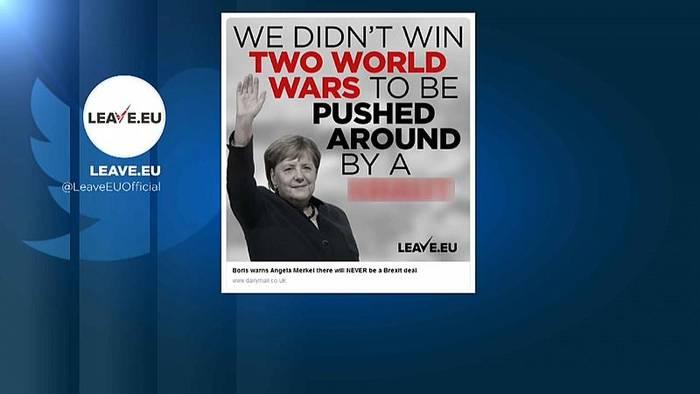 News video: Brexit-Ton wird schärfer: Merkel als