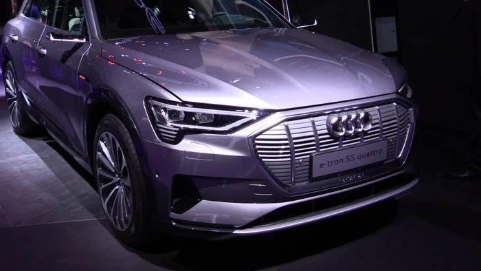 Video: Audi e-tron 55 quattro auf der 2019 IAA