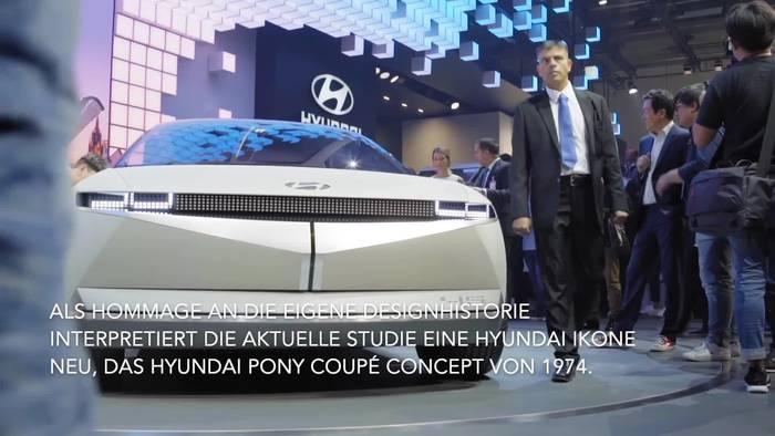 Video: Hyundai enthüllt Elektro-Konzept 45 auf der IAA in Frankfurt