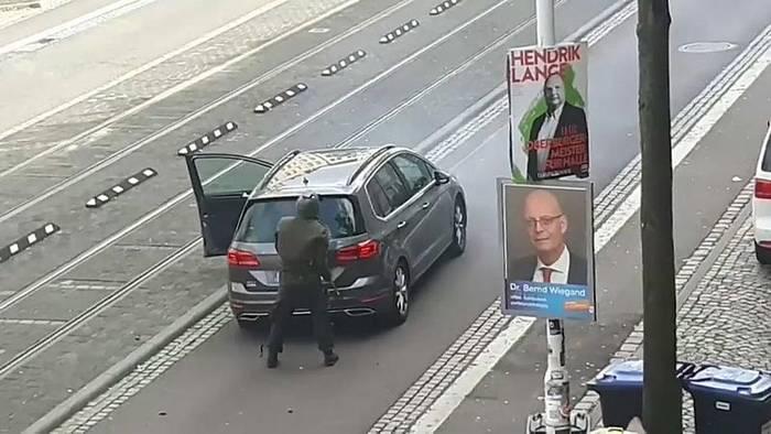 Video: Fassungslosigkeit nach tödlichem Angriff in Halle