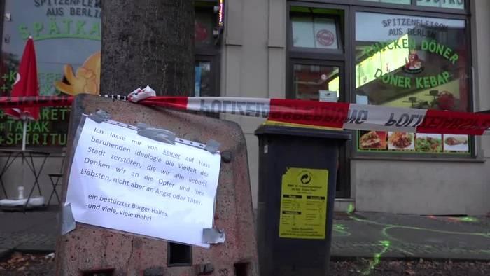 Video: Nach dem Angriff in Halle: Trauer, Bestürzung und Wut