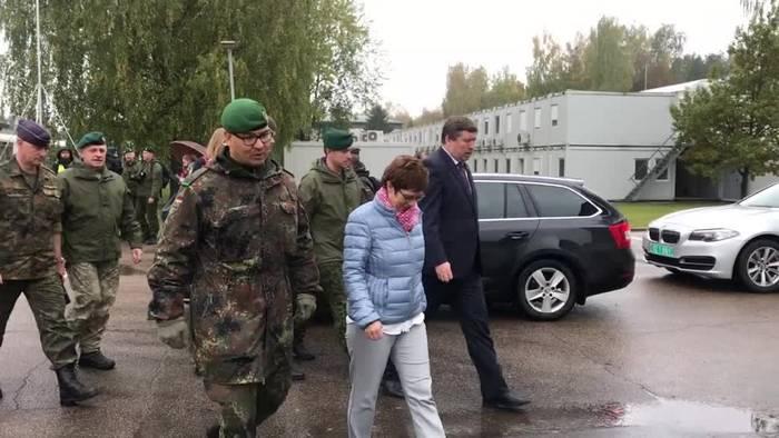 News video: Litauen wünscht sich Luftabwehr