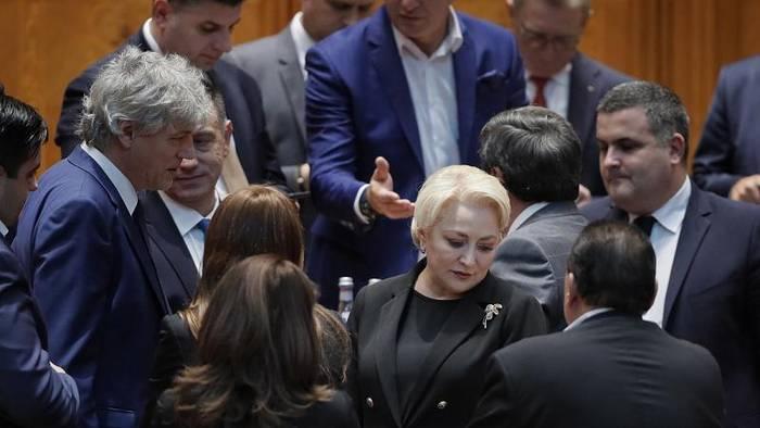 "Video: Rumänien: Präsident Johannis nennt gestürzte Regierung Dancila ""inkompetent"""