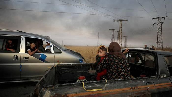 Video: Türkei verstärkt Offensive in Syrien - Sorge vor humanitärer Katastrophe