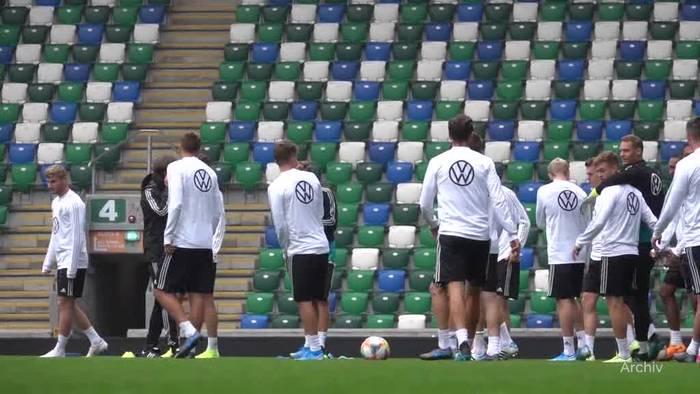 News video: DFB-Team gegen Estland - Selbstbewusst nach Tallinn