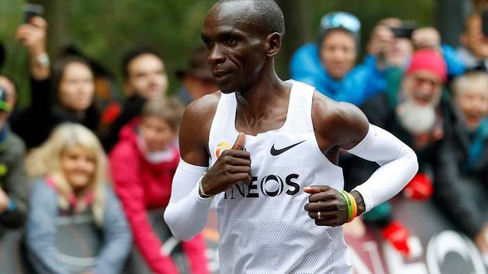 News video: Kenias Kipchoge knackt 2-Stunden-Marke beim Marathon