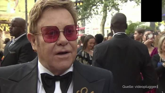 News video: Elton John: Habe einen Geist in meiner Villa in Windsor