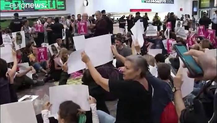 News video: Protest in Barcelona - Urteil gegen Separatistenführer am Montag erwartet