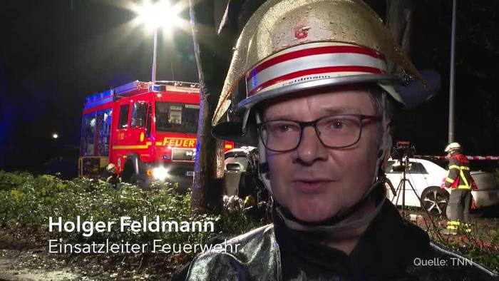 News video: Verletzte bei illegalem Autorennen in Hamburg
