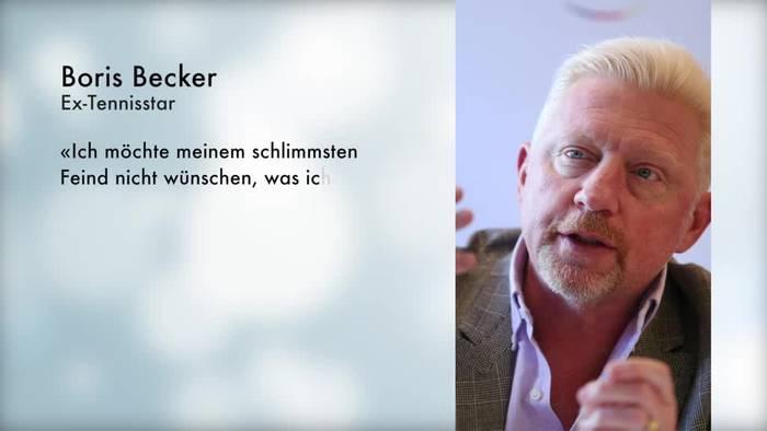 News video: Boris Becker: Insolvenzverfahren war schwierigste Zeit