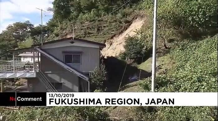 Video: Japan: Retter suchen nach Überlebenden des Wirbelsturms Hagibis