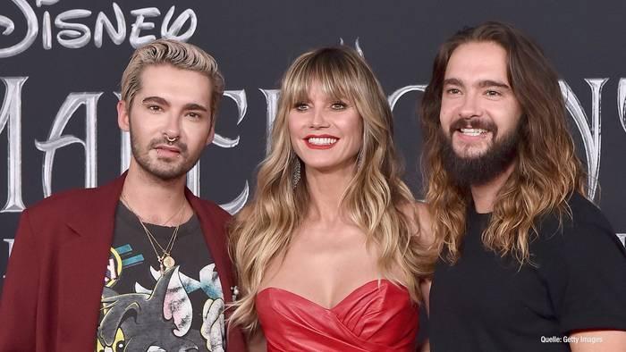 Video: Süß! Heidi Klum mit Kaulitz-Zwillingen auf Flohmarkt