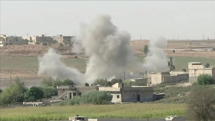 News video: Syrische Truppen an türkische Grenze verlegt
