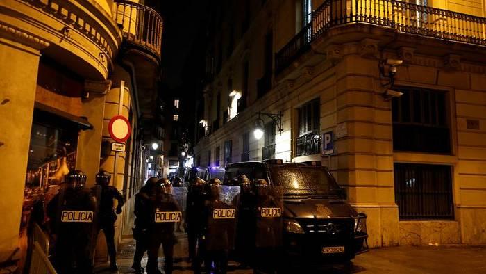 News video: Barcelona: Nächtliche Ausschreitungen nach Demonstration