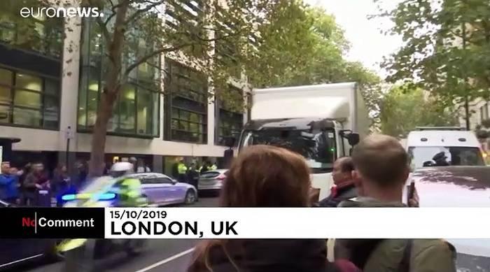 News video: Mitbegründerin der Bewegung Extinction Rebellion in London verhaftet