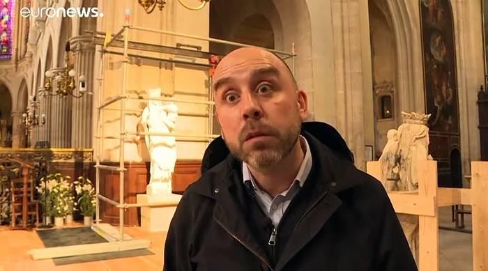 News video: Weiter Einsturzgefahr: Sicherung der Notre-Dame zieht sich
