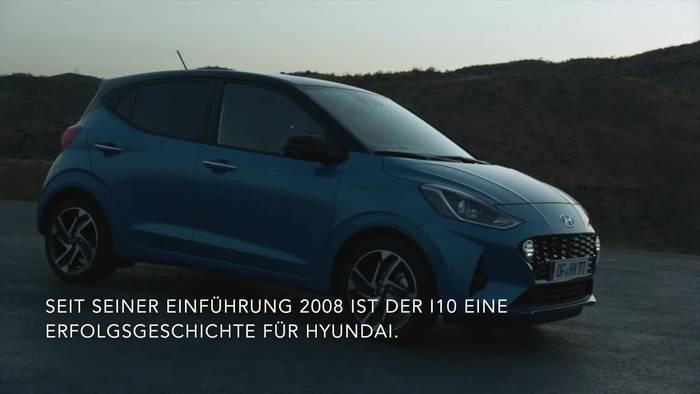 Video: Hyundai i10 - Neue Generation setzt Maßstäbe unter den Kleinstwagen