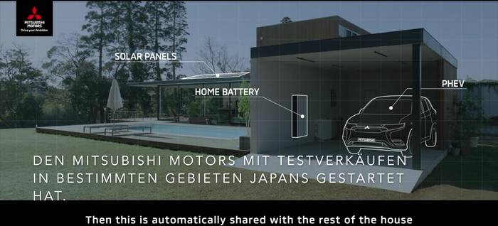 News video: Mitsubishi - DENDO DRIVE HOUSE