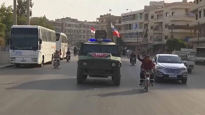 News video: Russland will Konflikt zwischen Türkei und Syrien verhindern