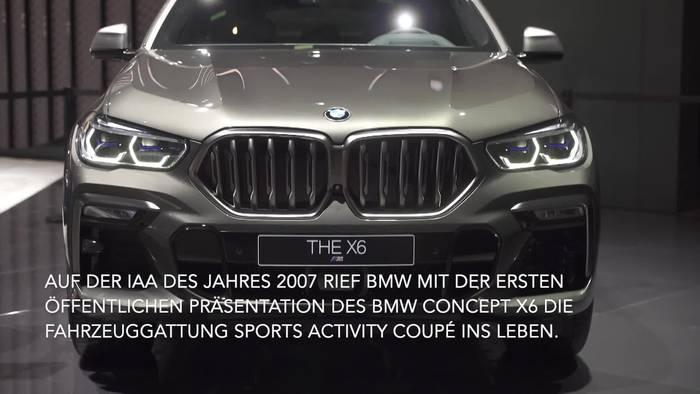 News video: Der neue BMW X6 – Athletik, Souveränität, Dominanz