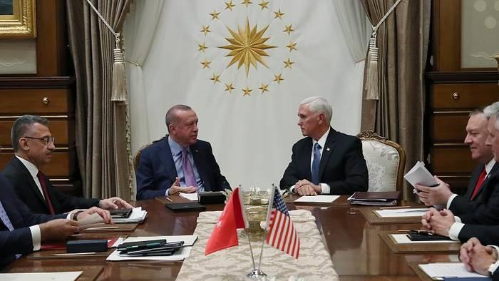 News video: Pence kündigt Feuerpause für Nordsyrien an - Kurden wollen sie akzeptieren