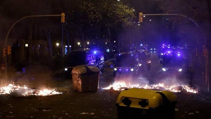 News video: Erneut Krawalle in Katalonien: Regionalregierung verurteilt Gewalt