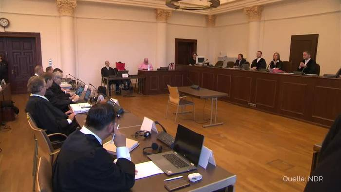 News video: NS-Prozess: Angeklagter bekennt sich zu SS-Vergangenheit