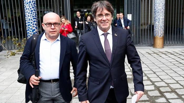 News video: Kataloniens Ex-Regionalpräsident Puigdemont bleibt in Belgien auf freiem Fuß